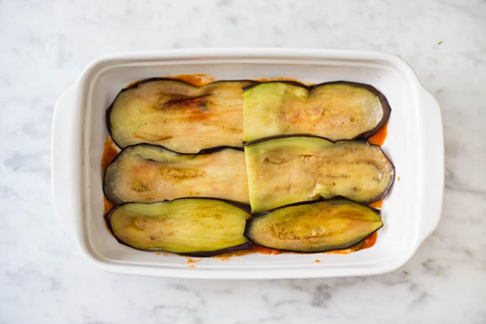 eggplant layers