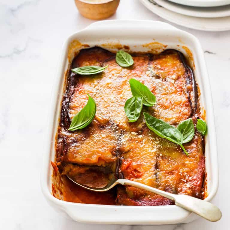 Melanzane alla parmigiana: A scrumptious vegetarian dish.