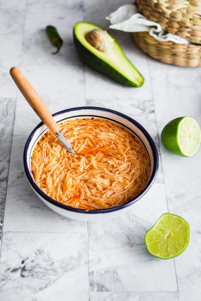 Mexican fideo recipe
