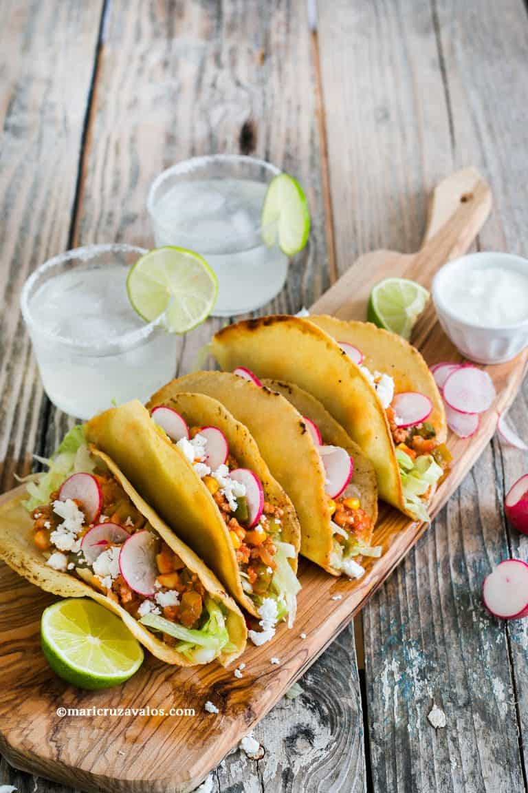 Tex Mex Tacos: Super crunchy and delicious!