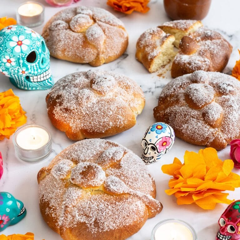 Pan de Muerto – How to make Bread of the Dead at home.