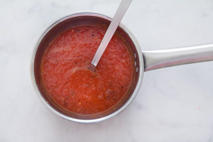salsa di pomodoro piccante per huevos rancheros