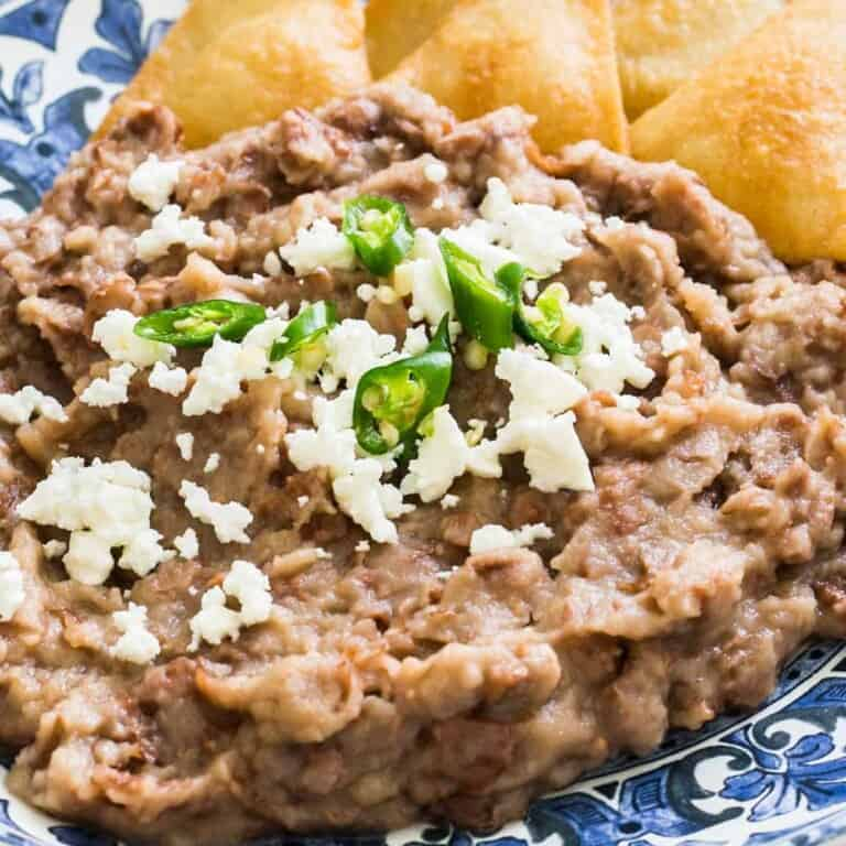Authentic Refried Beans. Ready In Just 5 minutes!