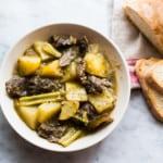 spezzatino di manzo (Italian stew)