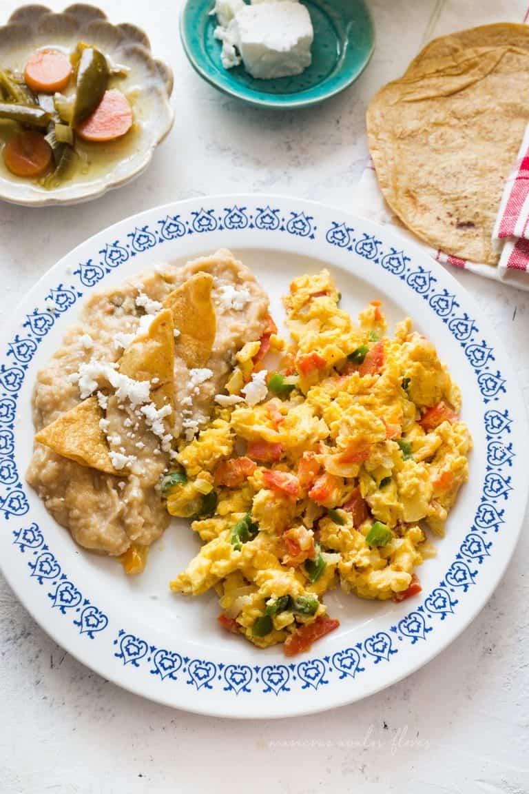 Huevos a la mexicana | Receta fácil