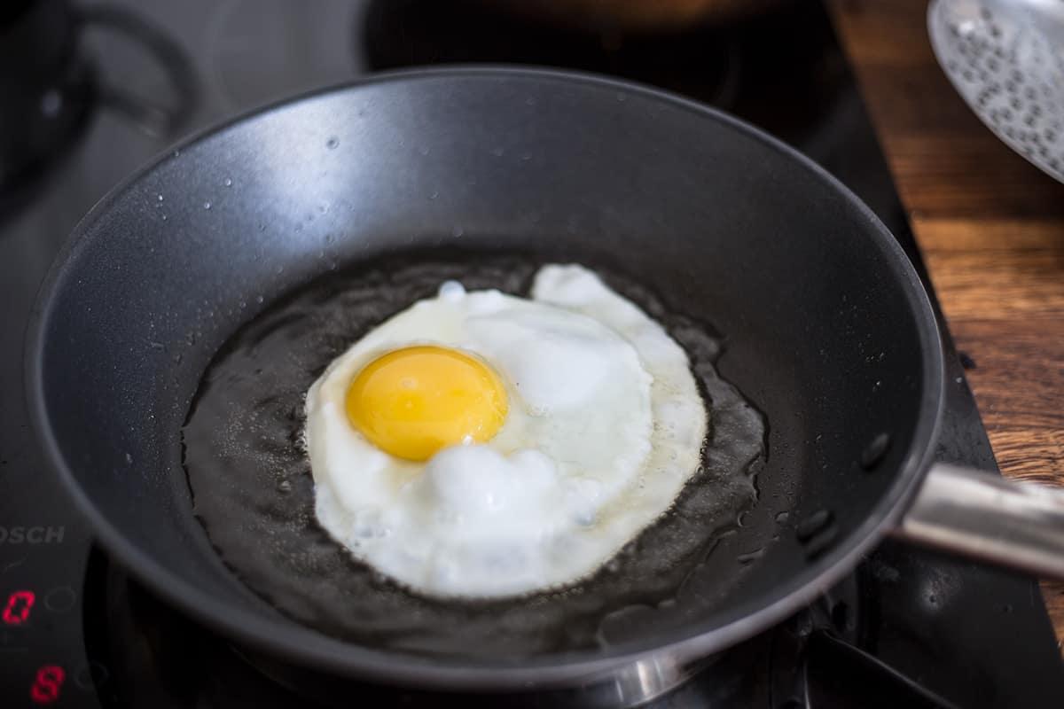 Huevo frito.