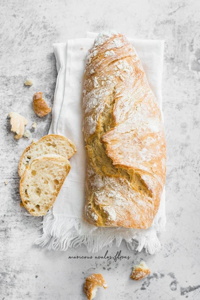 Hogaza de pan fácil