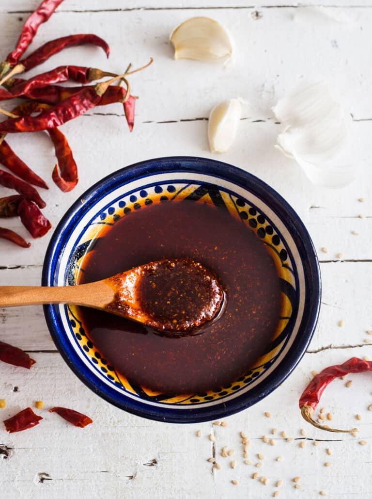 Mexican Chili Oil (Chile de Arbol Salsa)
