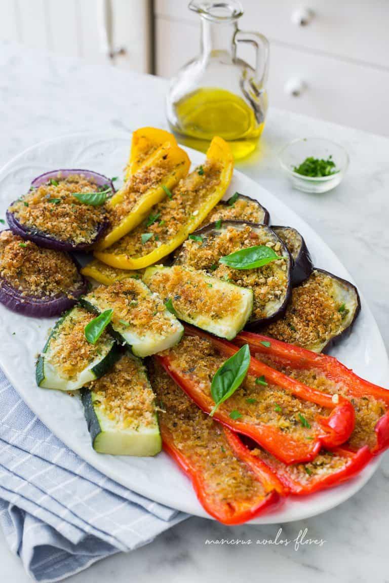 Verduras gratinadas a la Italiana