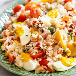 Cold Italian Rice Salad.