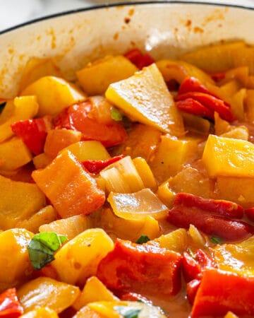 La peperonata recipe