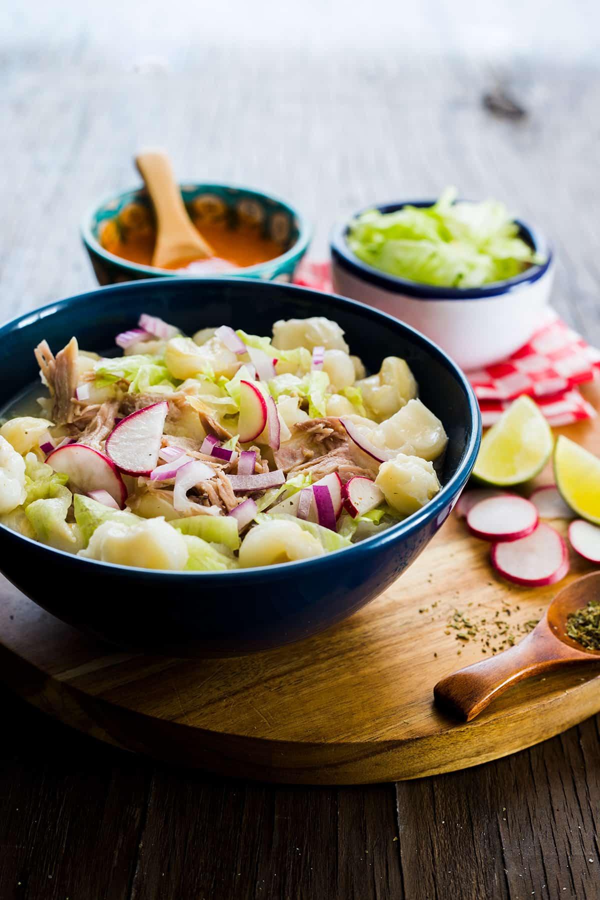 Pozole bianco. Un piatto precolombiano