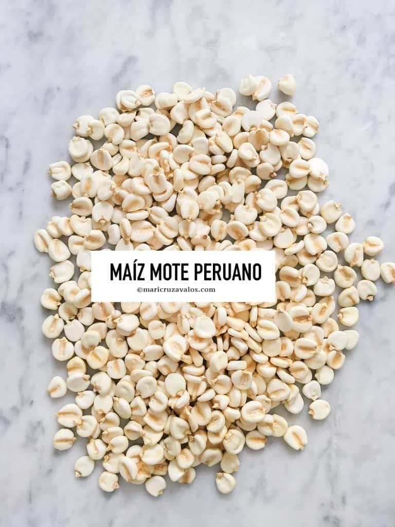 maíz mote peruano