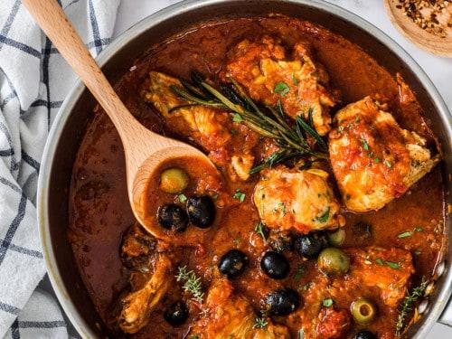 Pollo a la cazadora (pollo alla cacciatora) - Maricruz Avalos Kitchen Blog