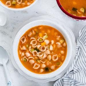 shell soup