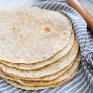 Sourdough tortillas recipe.