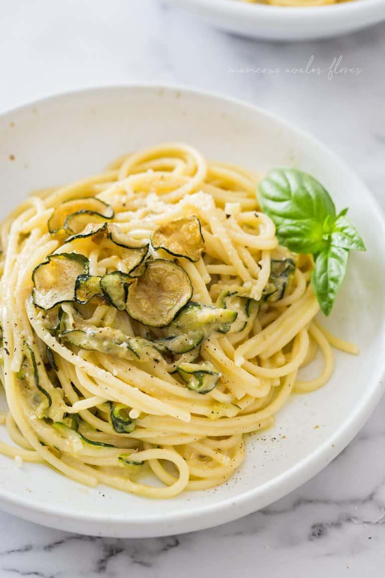 Spaghetti alla Nerano | Fried zucchini pasta