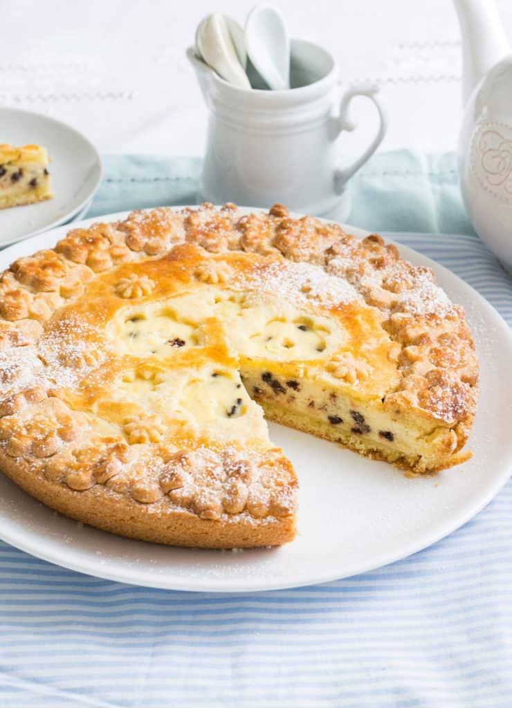 Italian ricotta pie