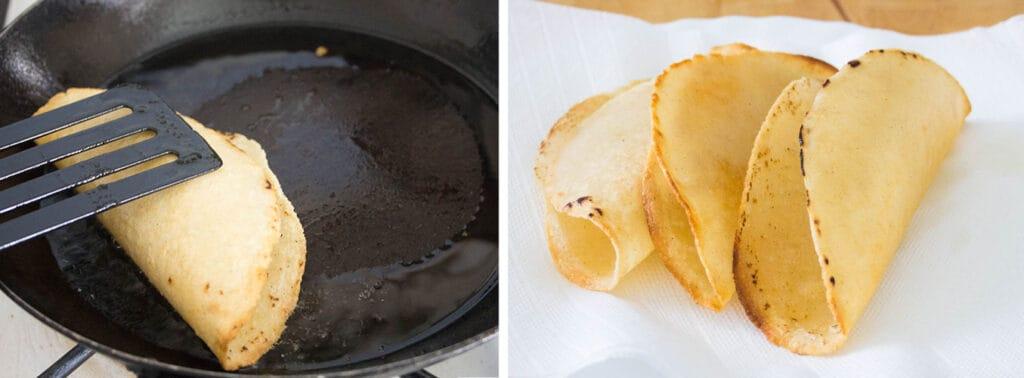 Tortillas fritas.