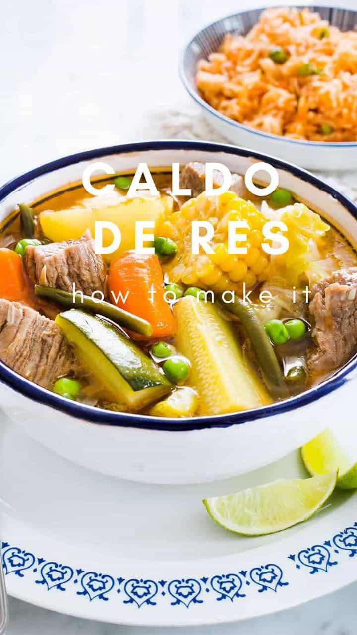 Mexican Caldo de Res Recipe