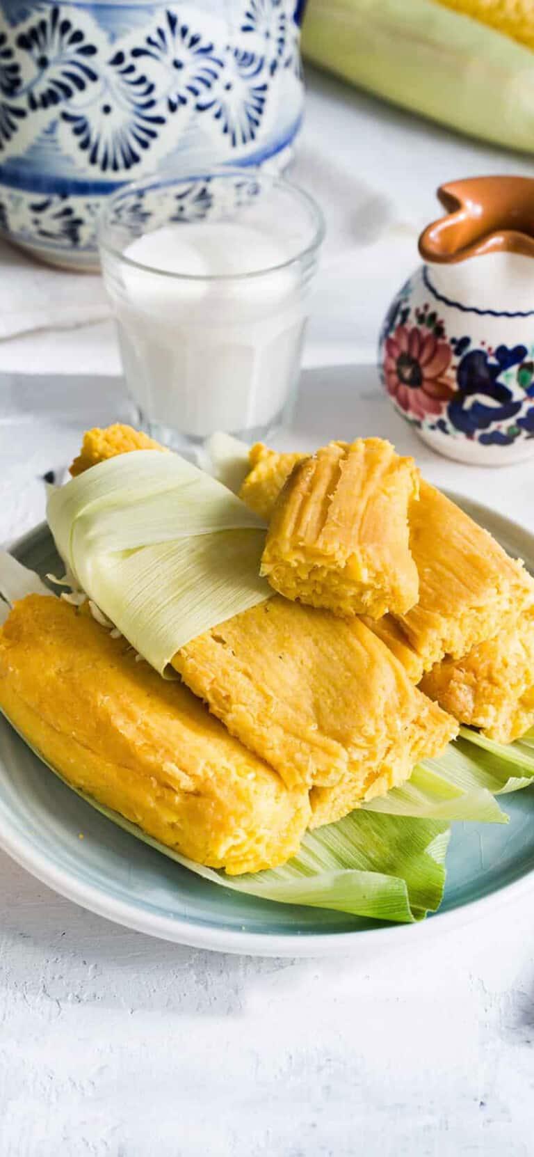 Sweet Corn Tamales (Tamales de Elote)