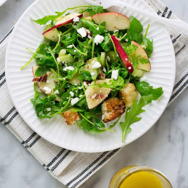 Arugula Salad With Apples And Celery