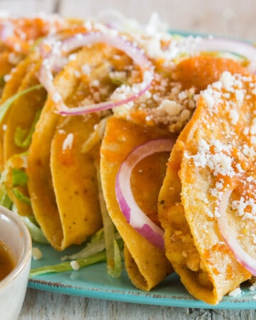 Fried Potato Tacos Recipe
