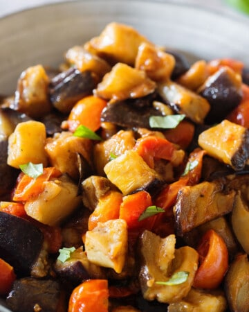 sautéed eggplant recipe