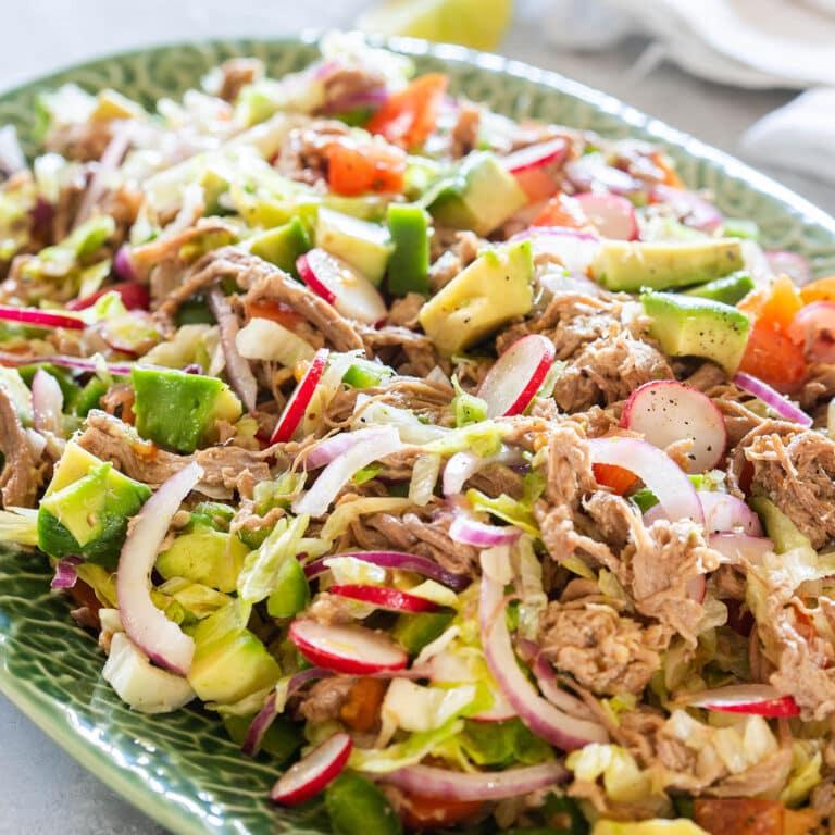 Salpicón: Mexican Shredded Beef Salad