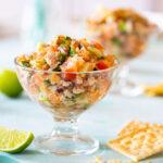Ceviche de Atún (canned tuna ceviche)