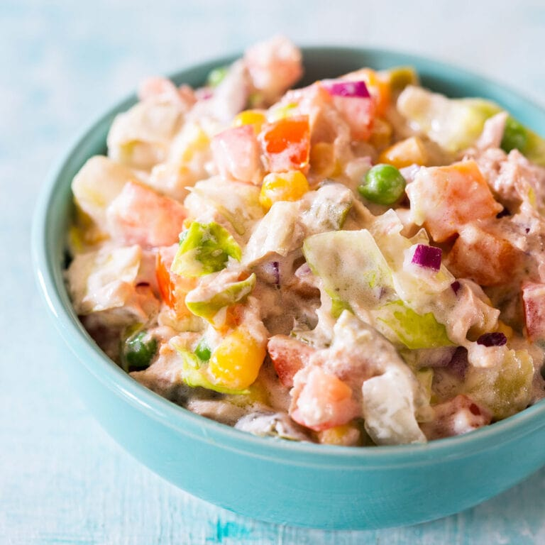 Ensalada de Atun (Mexican tuna salad)