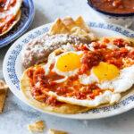 Huevos rancheros recipe.