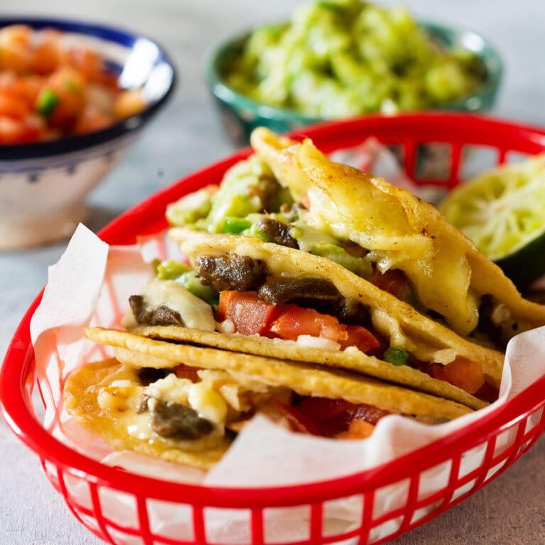 Mulitas: Carne Asada Taco-Quesadilla L.A. Style