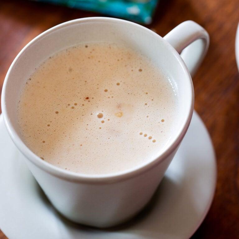 Atole de Mazapan: Easy Mexican Hot Drink