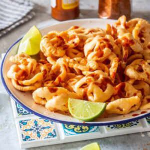 Chicharrones chips duritos. Cover image.