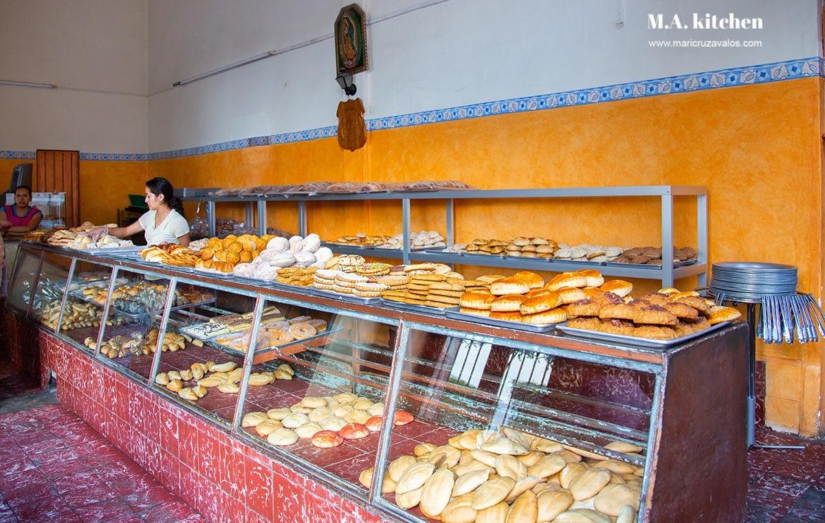 A Mexican panaderia.