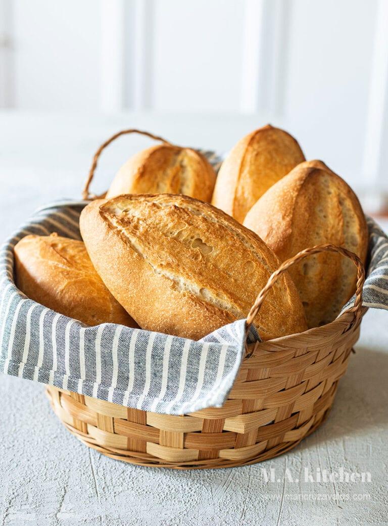 Bolillos Bread Recipe (Mexican Rolls)