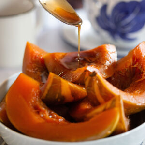 Mexican candied pumpkin recipe.