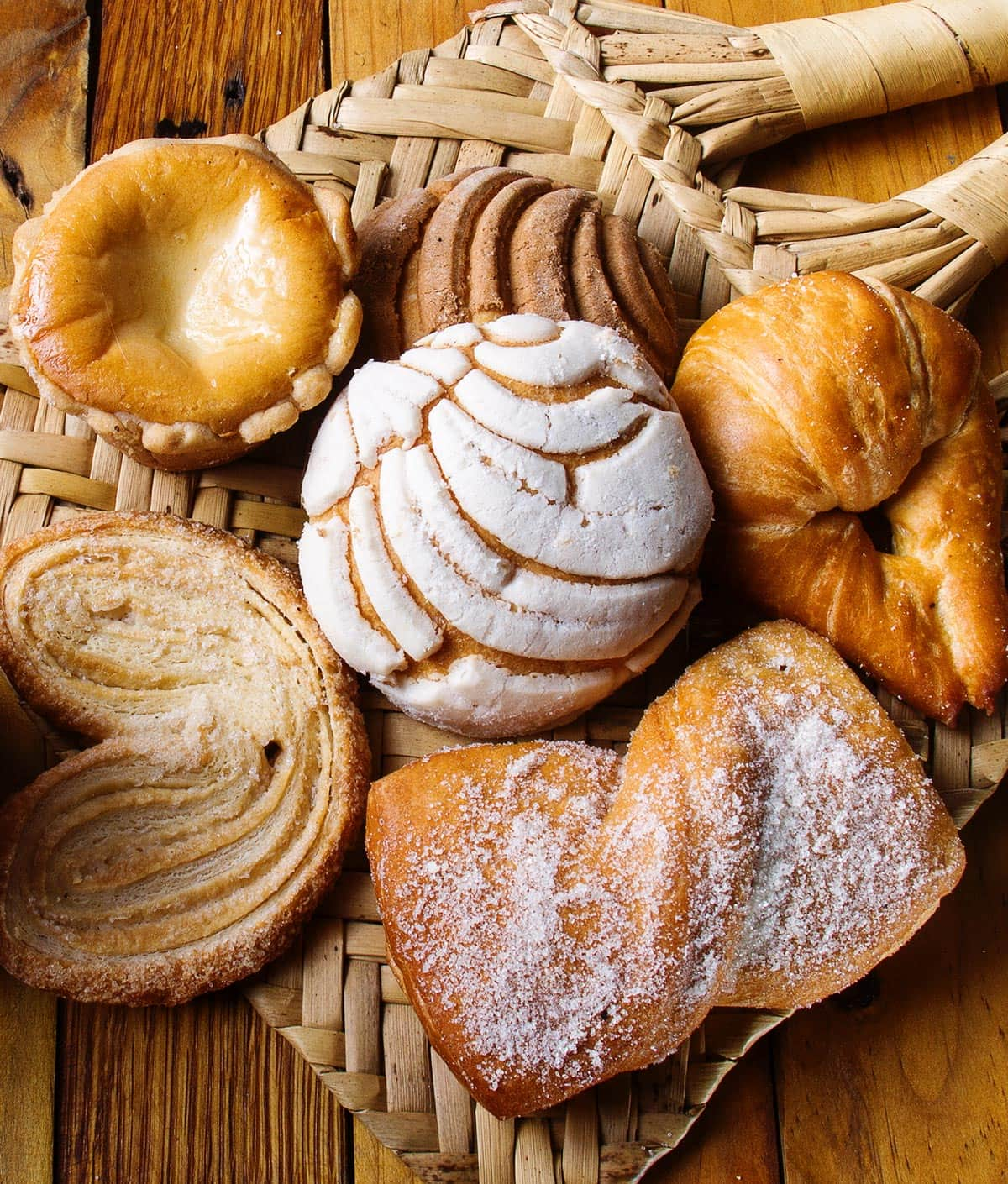 Pan dulce - Mexican sweet bread.