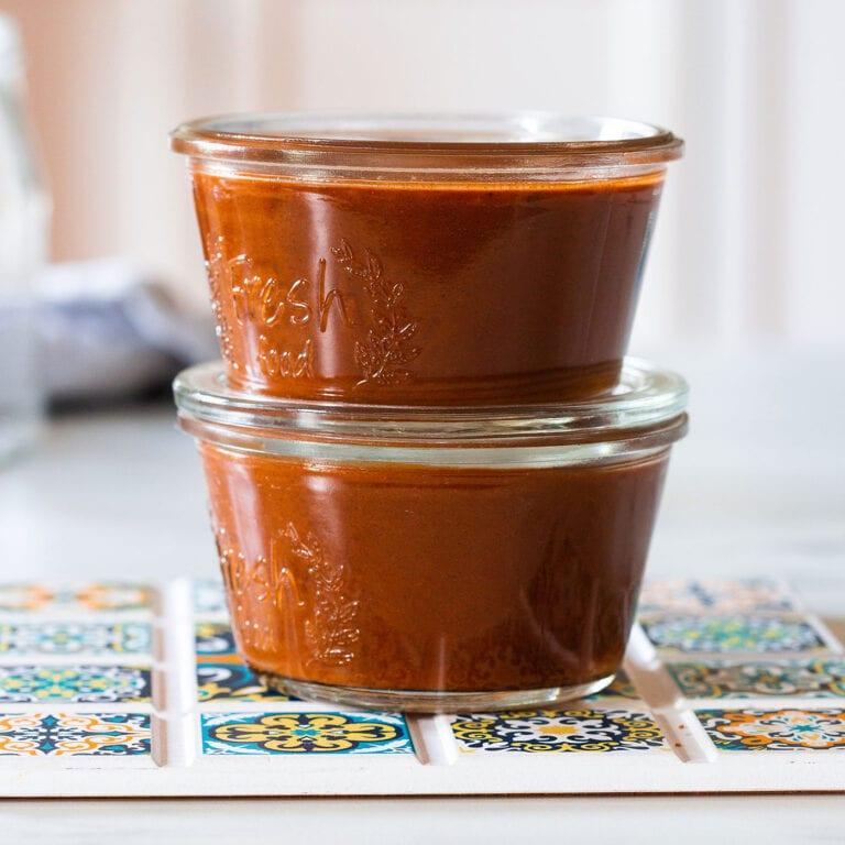Red Enchilada Sauce (2 versions)
