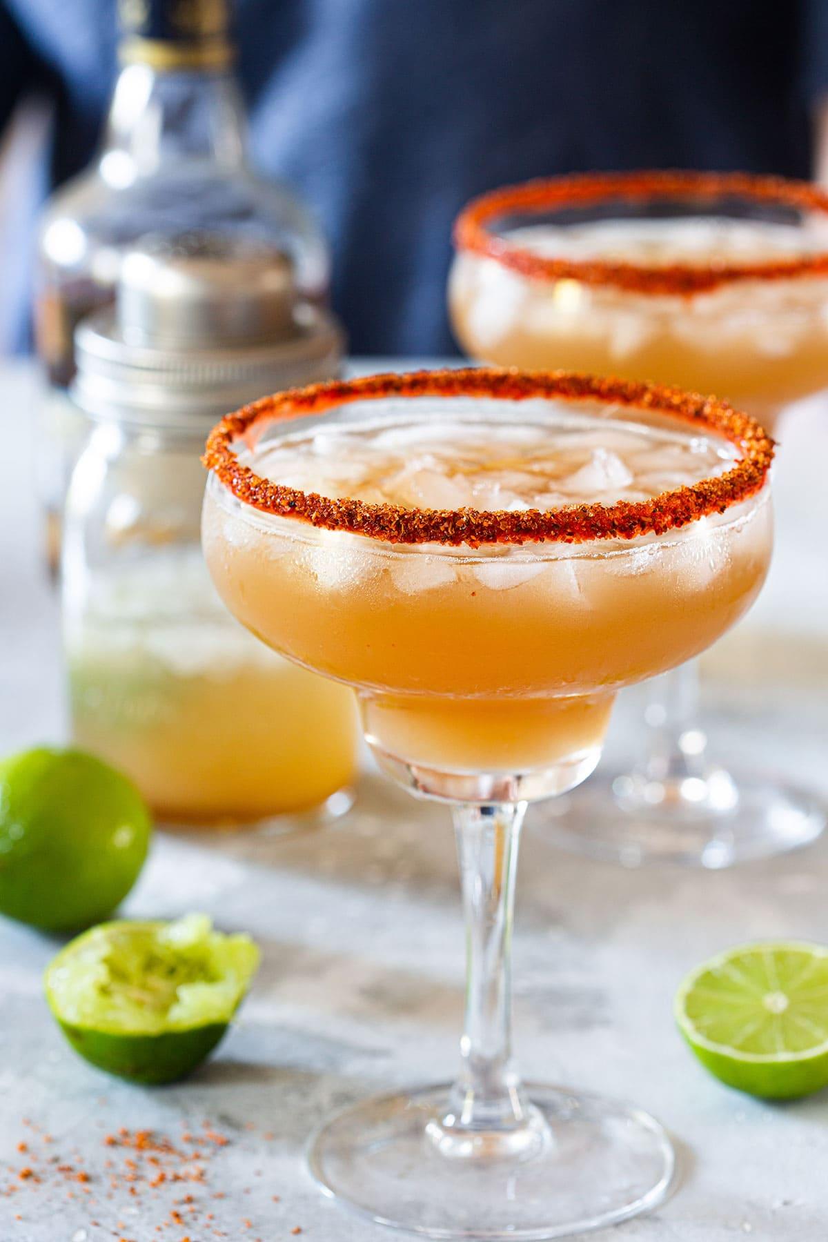 Tamarind Margarita cocktail.