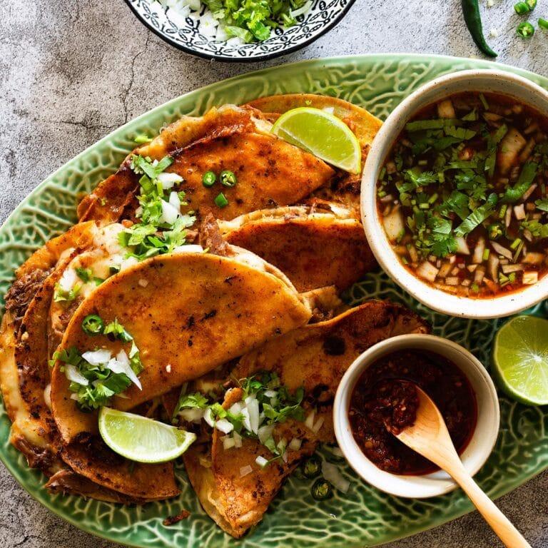 Birria Tacos (Quesabirria Tacos)