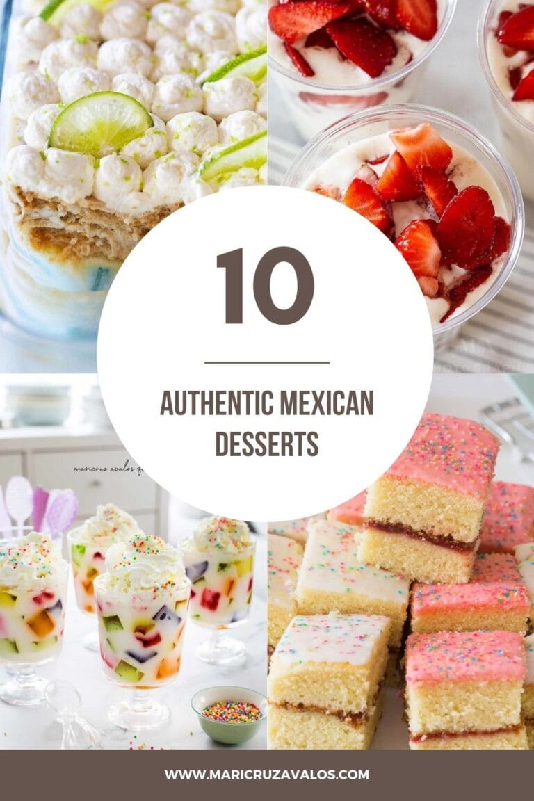 10 Authentic Mexican Desserts